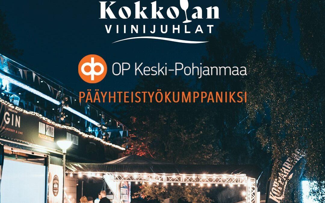 Keski-Pohjanmaan Osuuspankki pääyhteistyökumppaniksi!